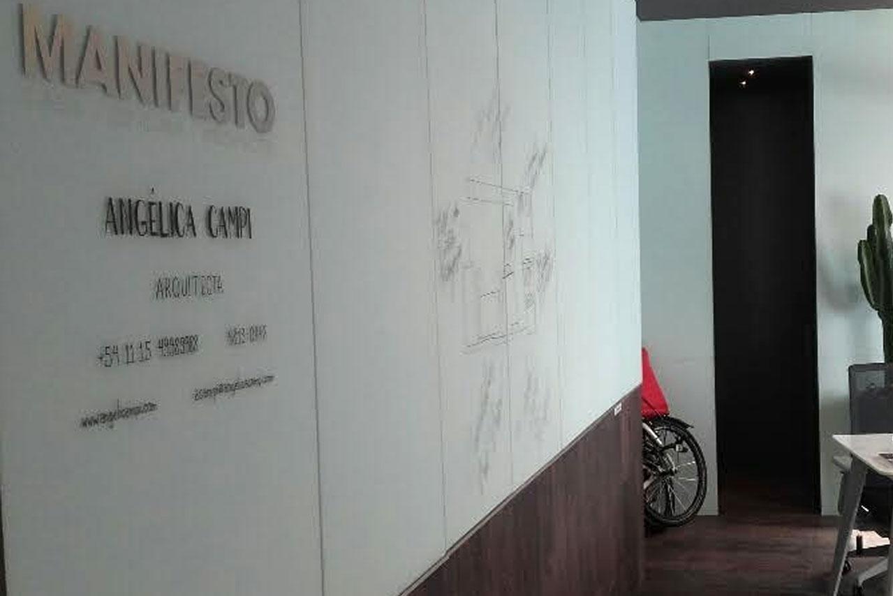 Espacio Home Office en Casa FOA, Arq. Angélica CAmpi